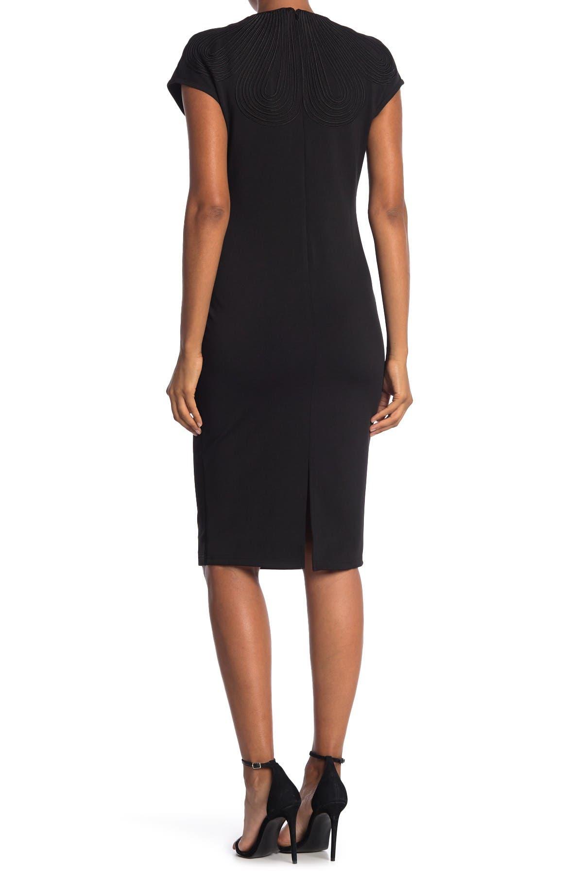 Gracia H-Line Midi Dress