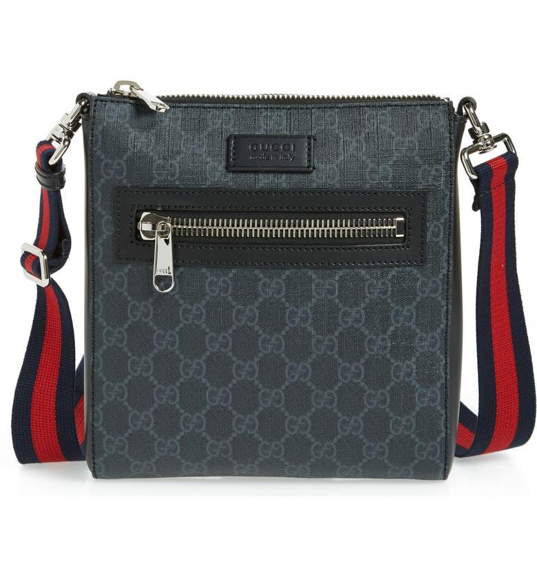 GUCCI Travel Bag, Main, color, 001