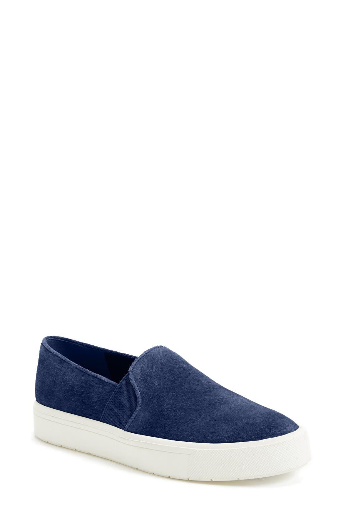,                             'Berlin 6' Slip-On Suede Sneaker,                             Main thumbnail 9, color,                             400