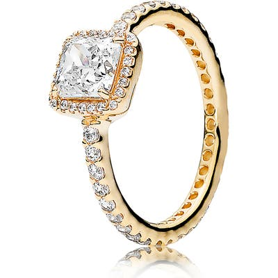 Pandora Timeless Elegance 14K Gold Ring