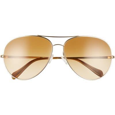 Oliver Peoples Sayer 6m Oversize Gradient Aviator Sunglasses -