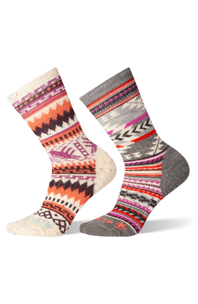 cute reputable site new images of Smartwool x CHUP 2-Pack Crew Socks | Nordstrom