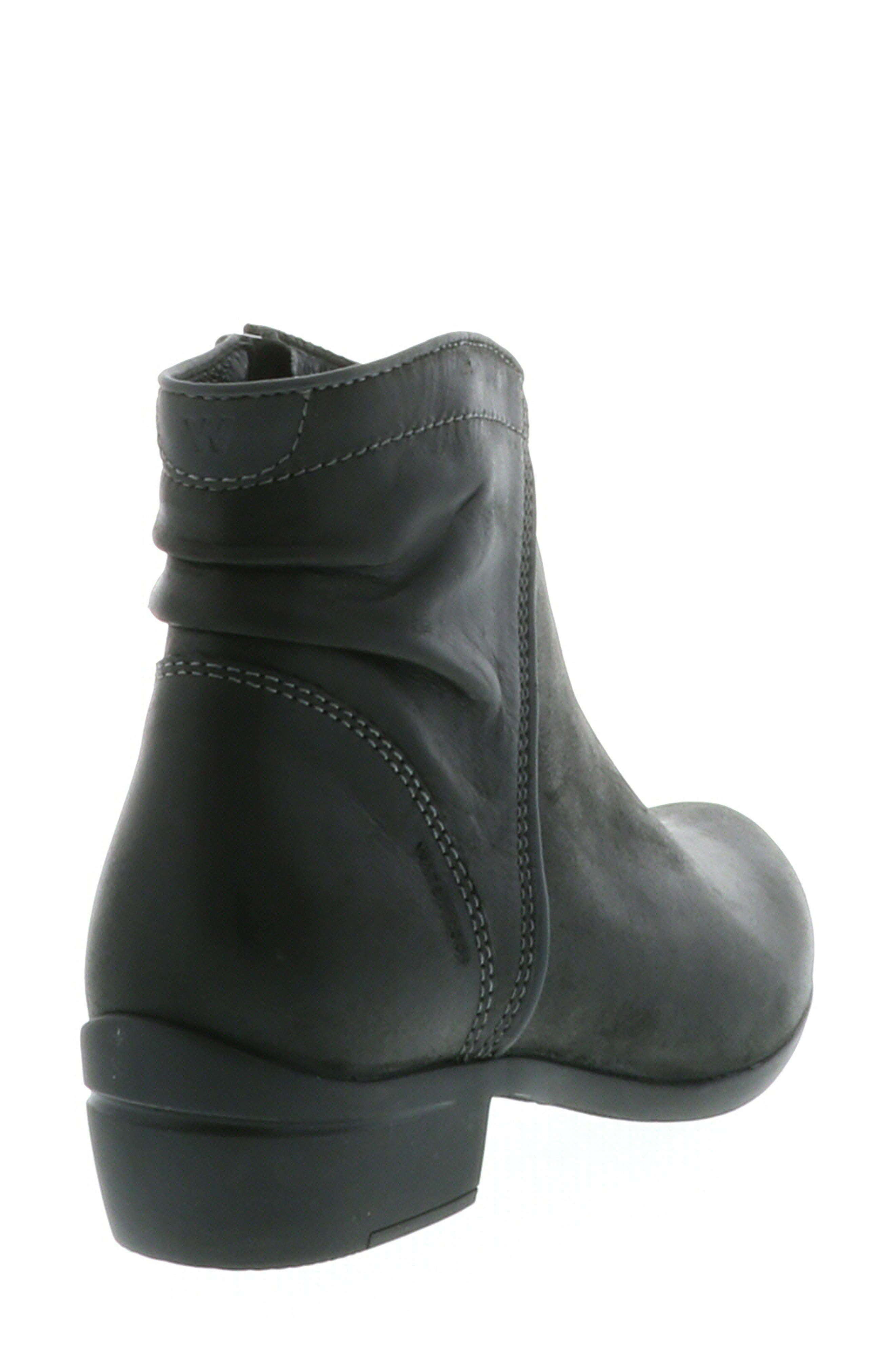 ,                             Winchester Bootie,                             Alternate thumbnail 10, color,                             BLACK/ BLACK LEATHER