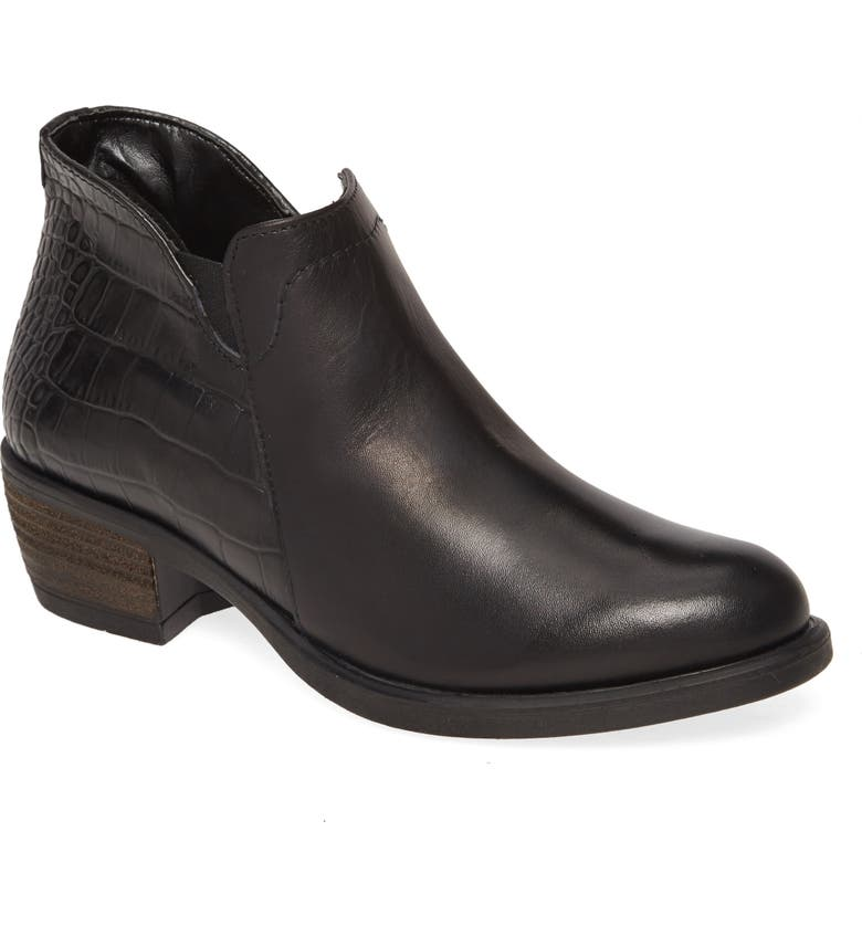 DAVID TATE Global Bootie, Main, color, BLACK LEATHER