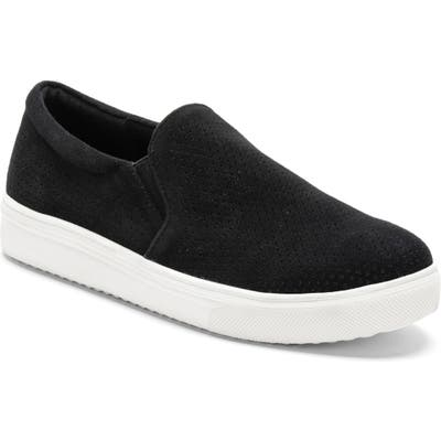 Blondo Gallert Perforated Waterproof Platform Sneaker- Black