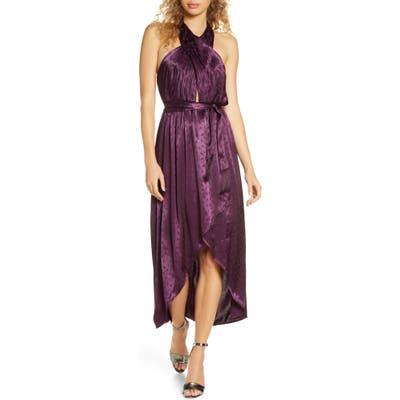 Ali & Jay Star Dancing Halter High/low Dress, Purple