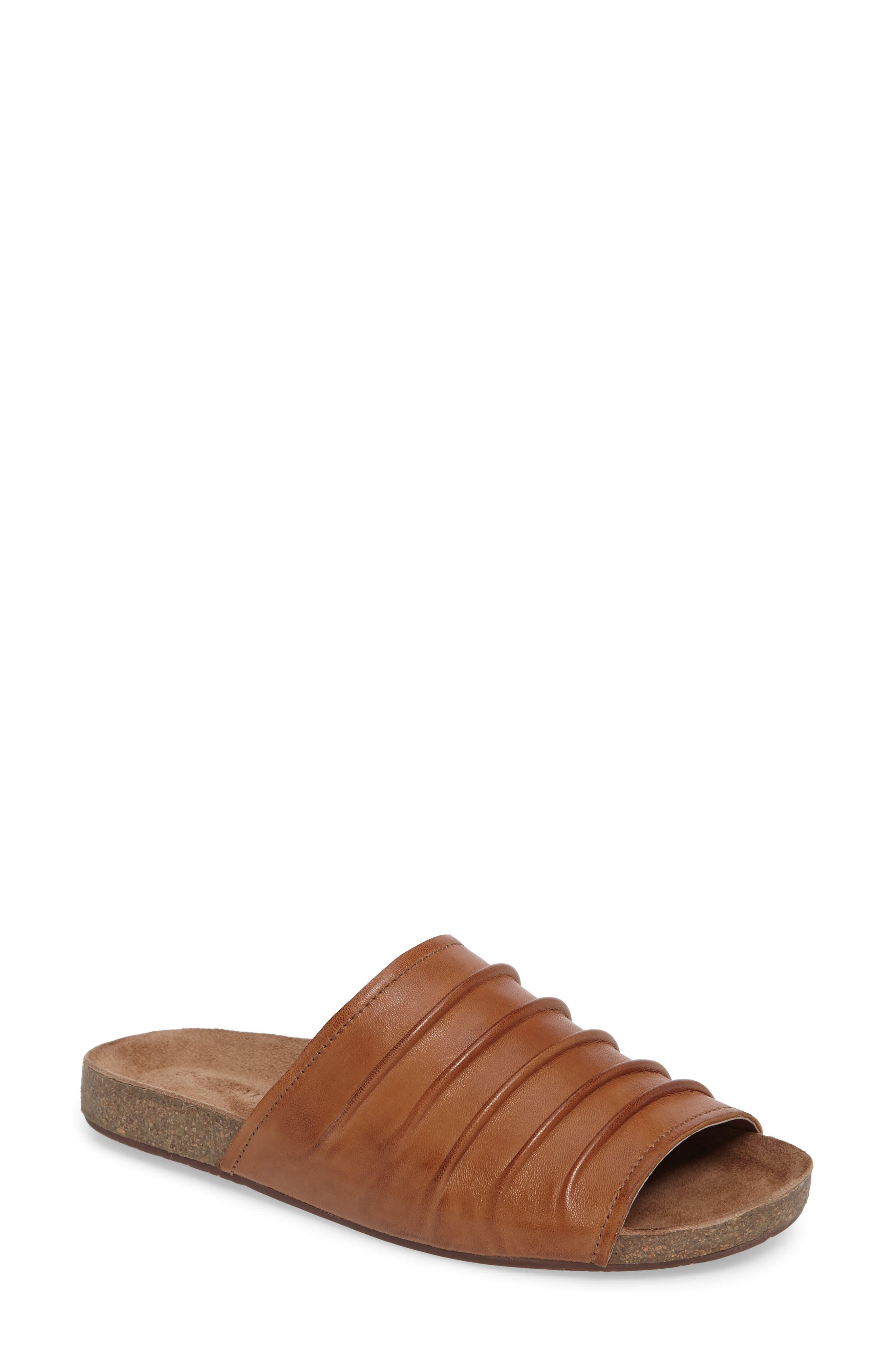 Chocolat Blu Slide Sandal, Brown
