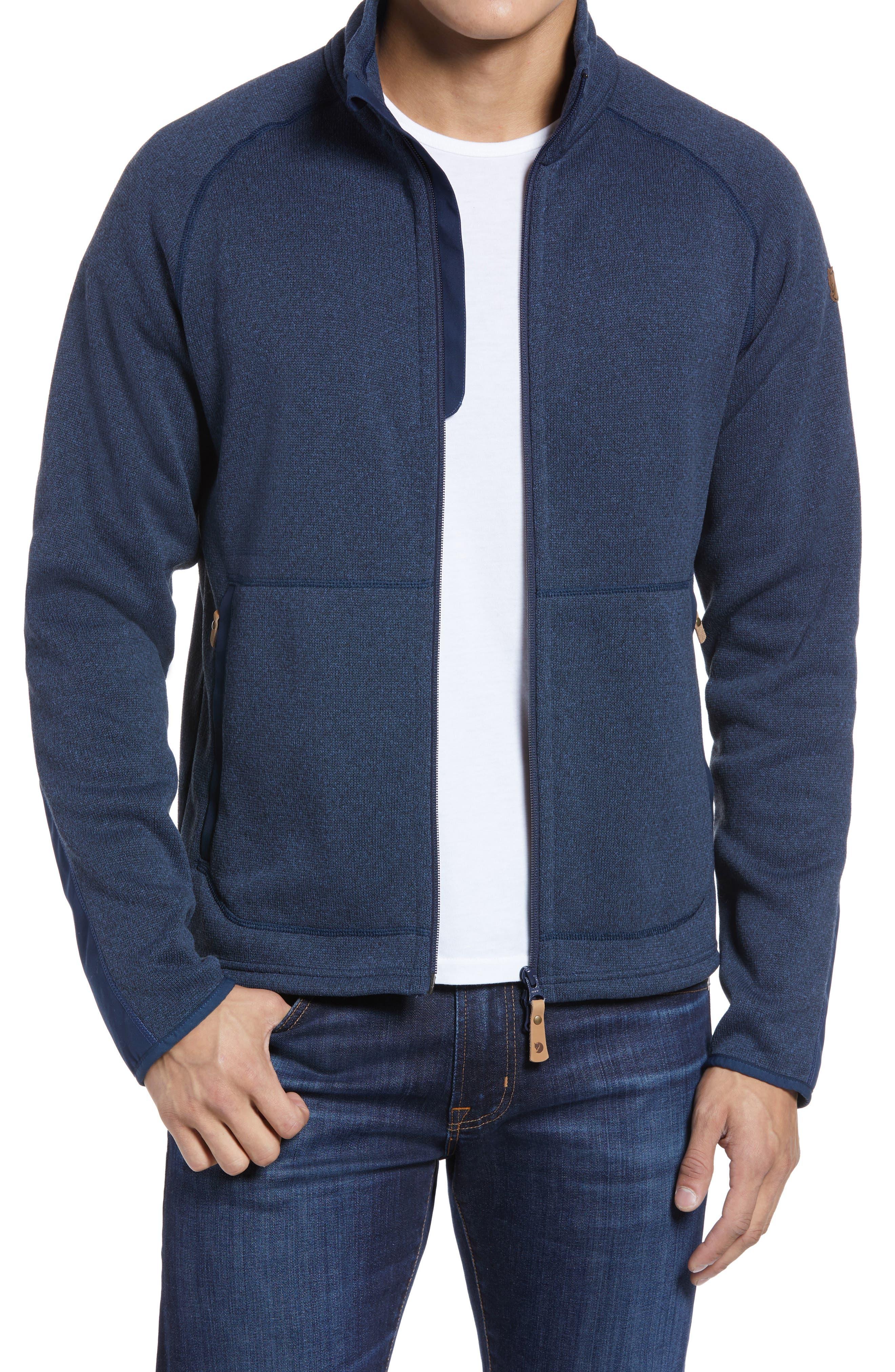 Ovik Fleece Zip Sweater