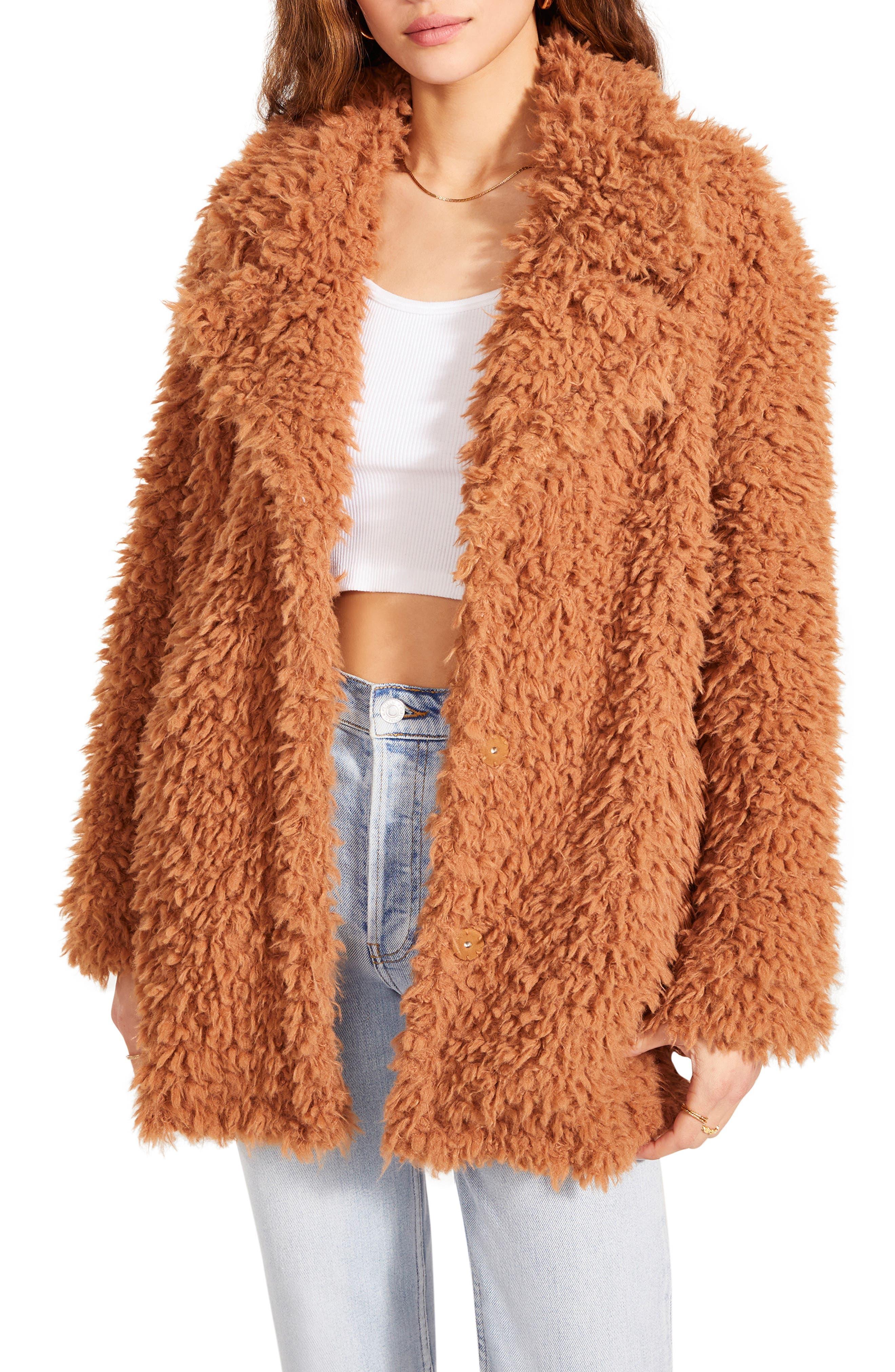Women's Bb Dakota What's The Fuzz About Coat