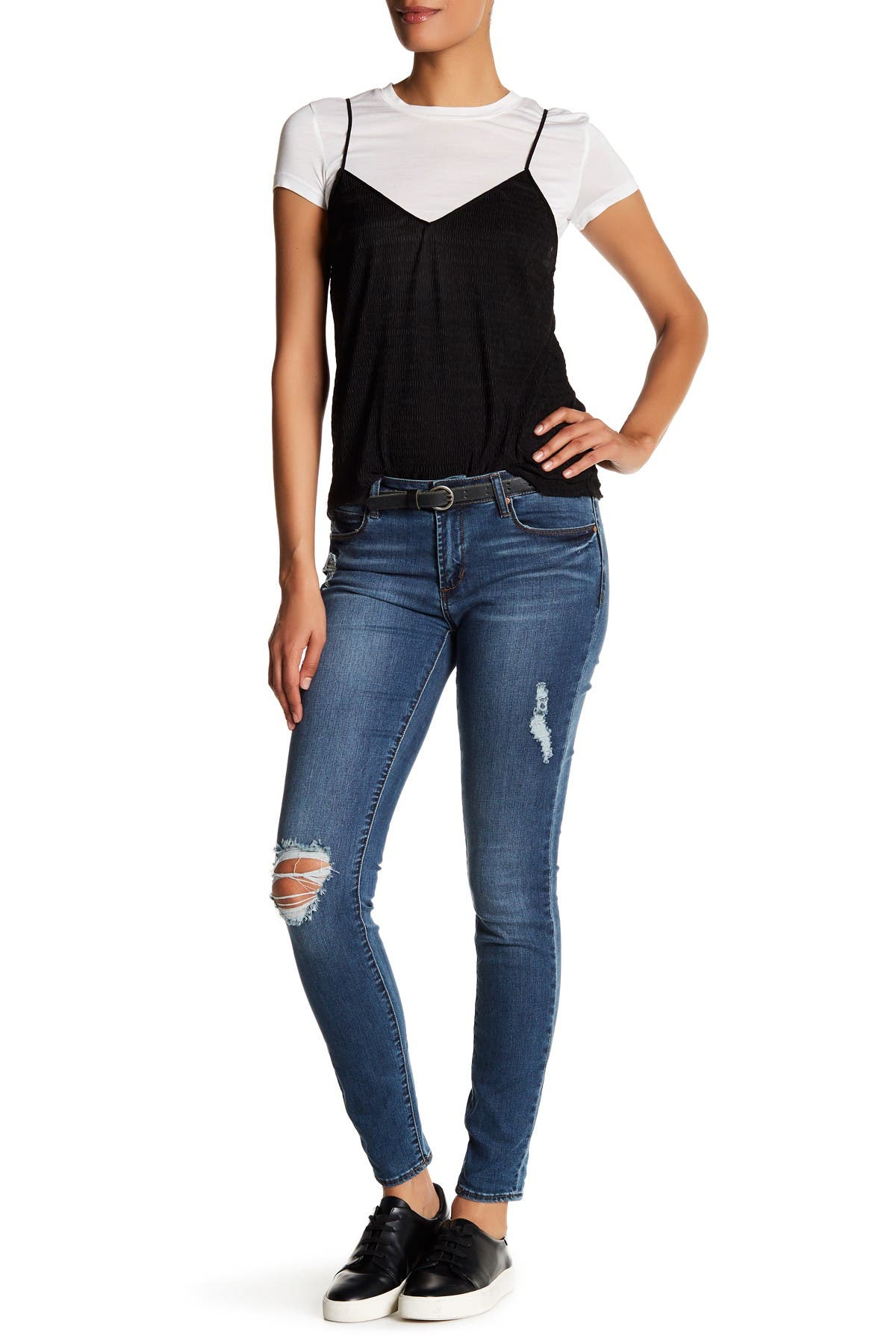 Image of Articles of Society Sarah Distressed Skinny Jean