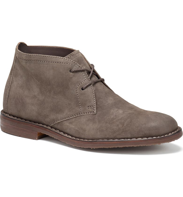 TRASK 'Brady' Chukka Boot, Main, color, GREY/GREY
