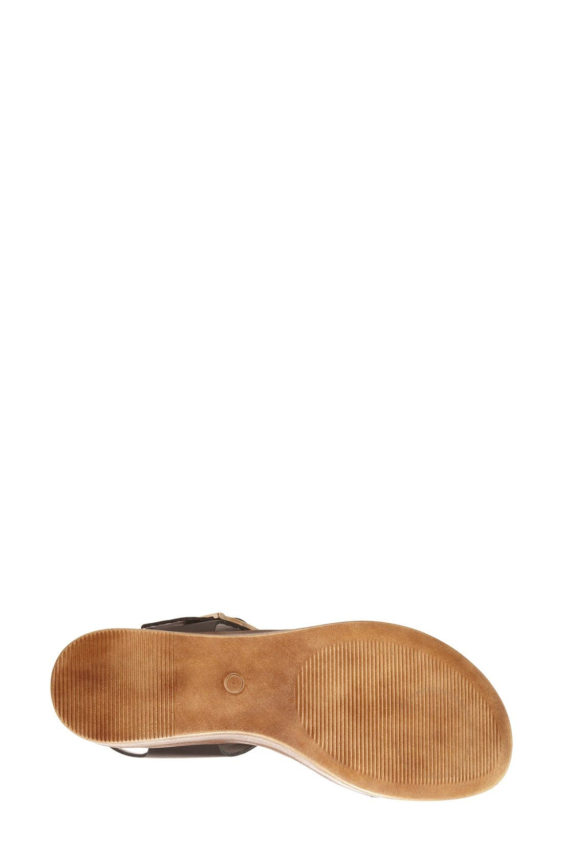,                             'Madylynn' Platform Sandal,                             Alternate thumbnail 3, color,                             001
