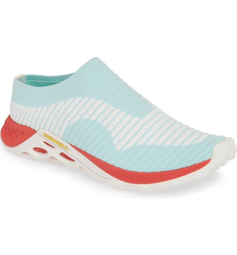 MERRELL Range AC+ Sneaker, Main, color, BLEACHED AQUA FABRIC