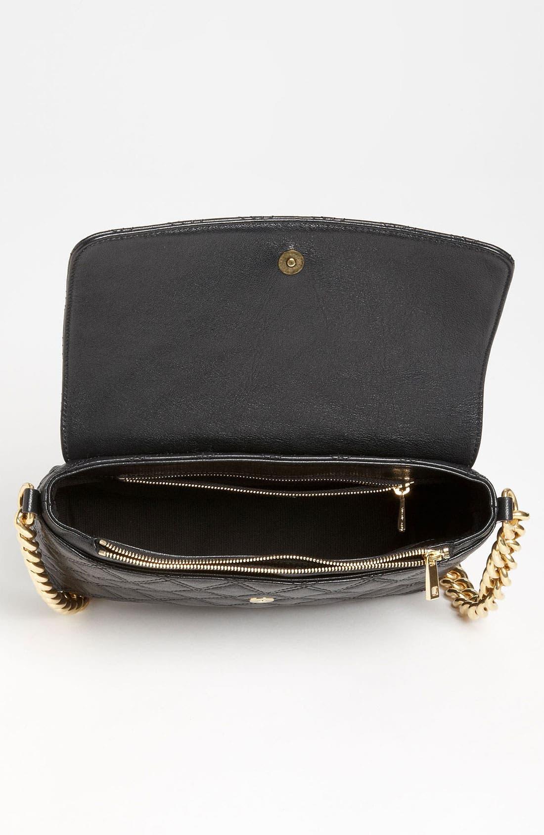 ,                             'Large Quilting Single' Leather Shoulder Bag,                             Alternate thumbnail 10, color,                             004