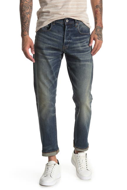 Image of G-STAR RAW 3301 Tapered Straight Leg Jeans