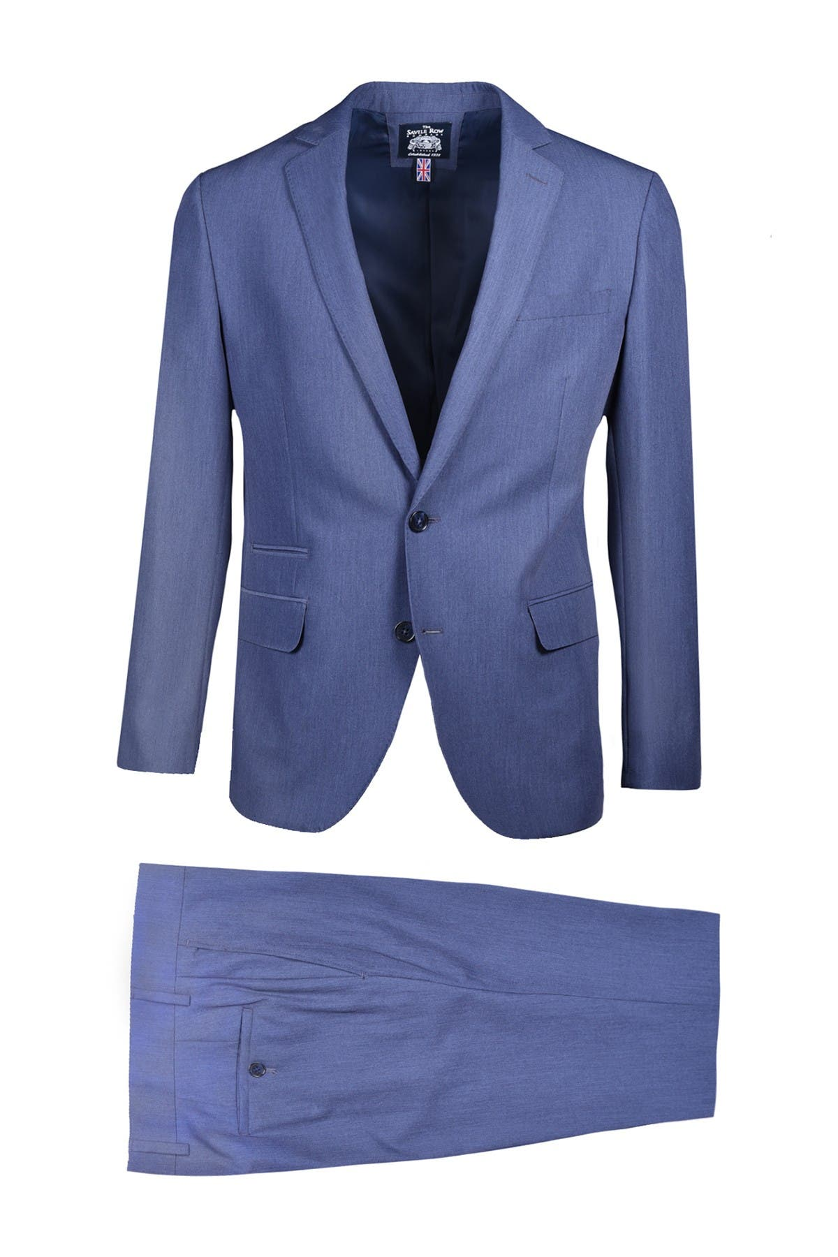 Purple 42R Savile Row Co Mens Rivington