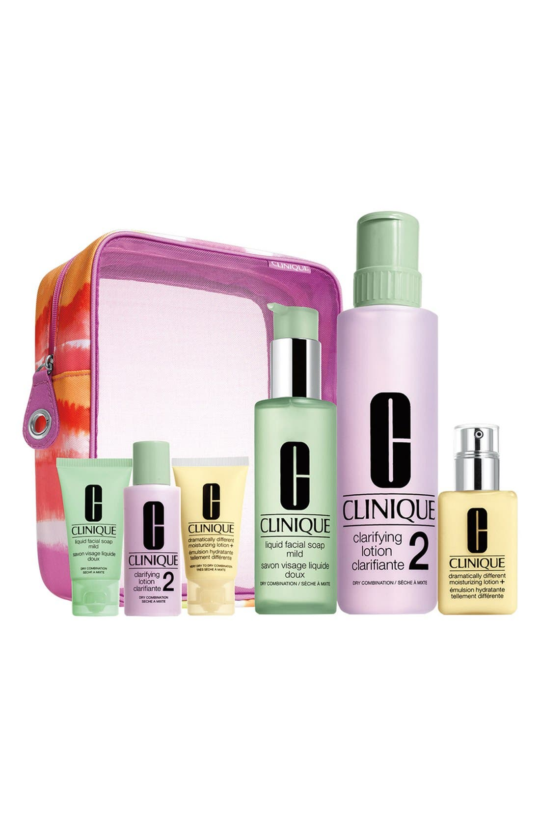 ,                             'Great Skin Home & Away' Set for Very Dry to Dry Combination Skin Types,                             Main thumbnail 1, color,                             100