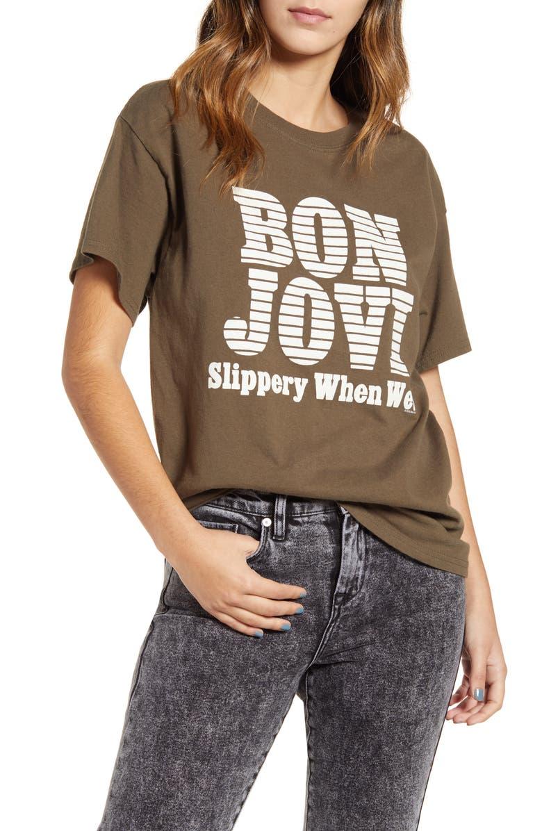 VINYL ICONS Bon Jovi Tee, Main, color, 300