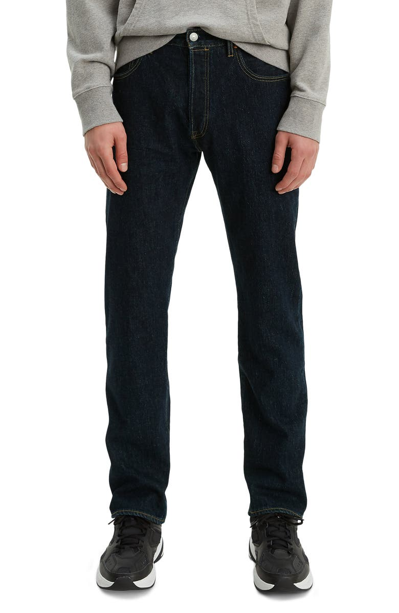 LEVI'S<SUP>®</SUP> 501<sup>®</sup> '93 Straight Leg Jeans, Main, color, HEATHER RINSE