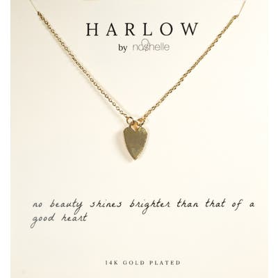 Harlow By Nashelle Heart Boxed Necklace