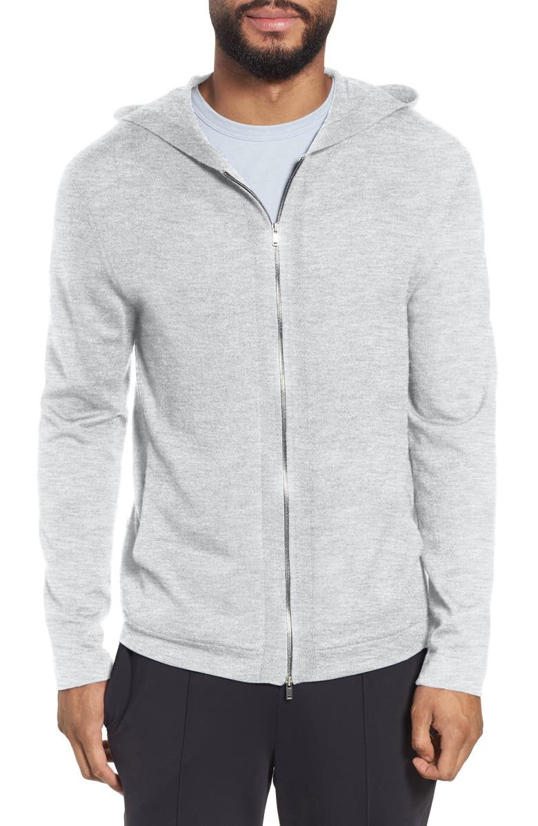 THEORY Lievos Cashmere Zip Hoodie, Main, color, 020