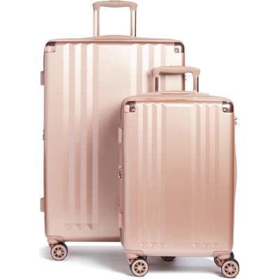 Calpak Ambeur 2-Piece Spinner Luggage Set - Pink