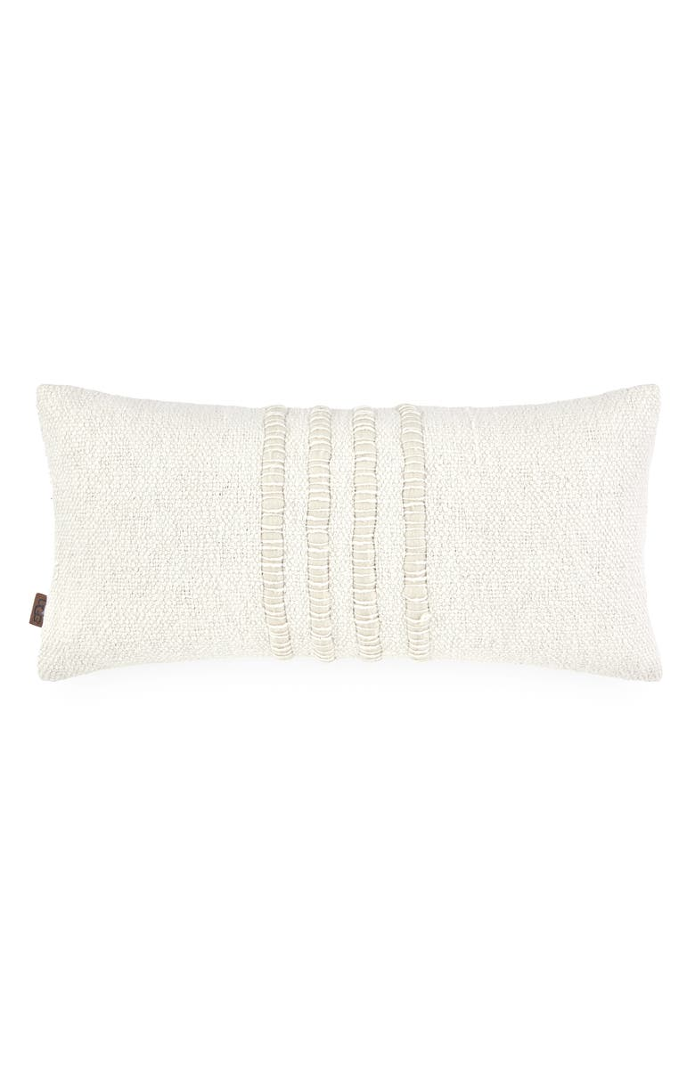 UGG<SUP>®</SUP> Alicia Rectangular Accent Pillow, Main, color, NATURAL