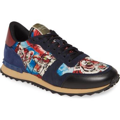 Valentino Garavani Tiger Rockrunner Sneaker, Blue