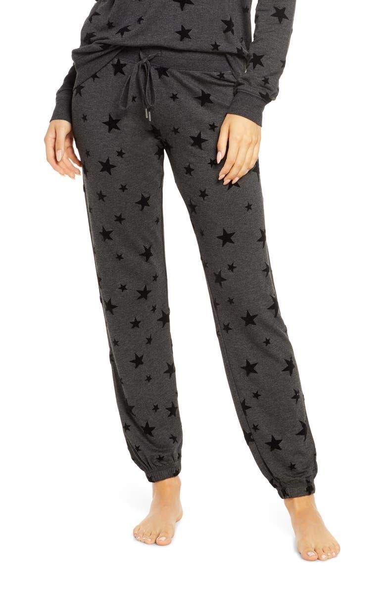 PJ SALVAGE Night Sky Lounge Jogger Pants, Main, color, SLATE