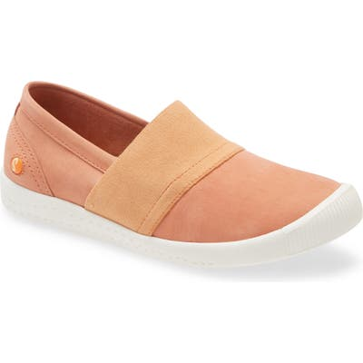 Softinos By Fly London Ino Slip-On Sneaker - Orange