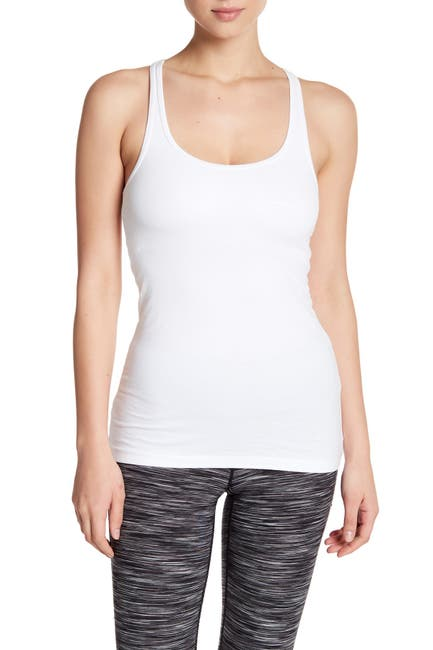 Image of shimera Solid Shelf Tank Top
