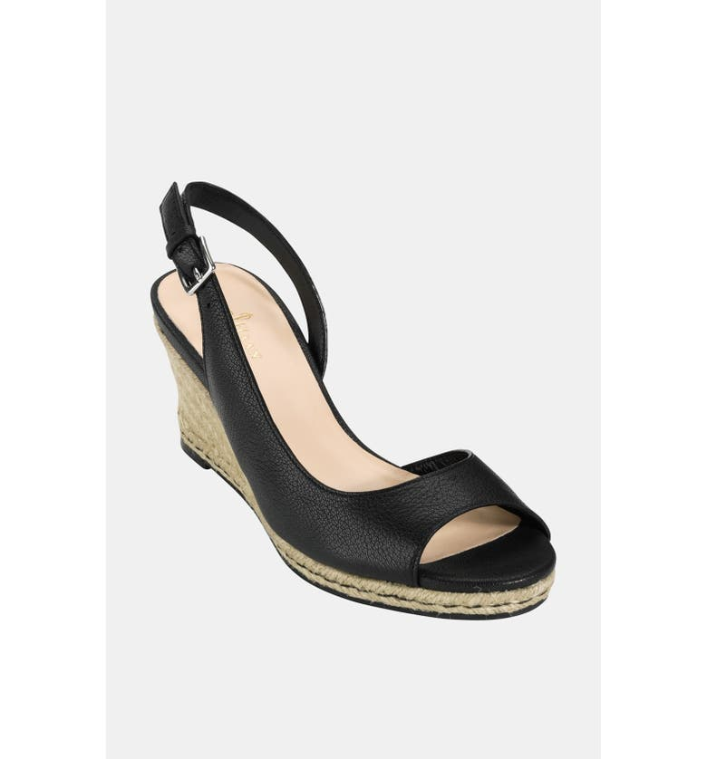 COLE HAAN 'Air Adelaide' Wedge Sandal, Main, color, 001