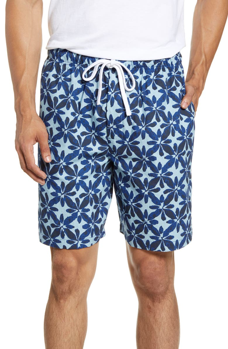 MAJESTIC INTERNATIONAL Shanti Pajama Shorts, Main, color, CHAMBRAY