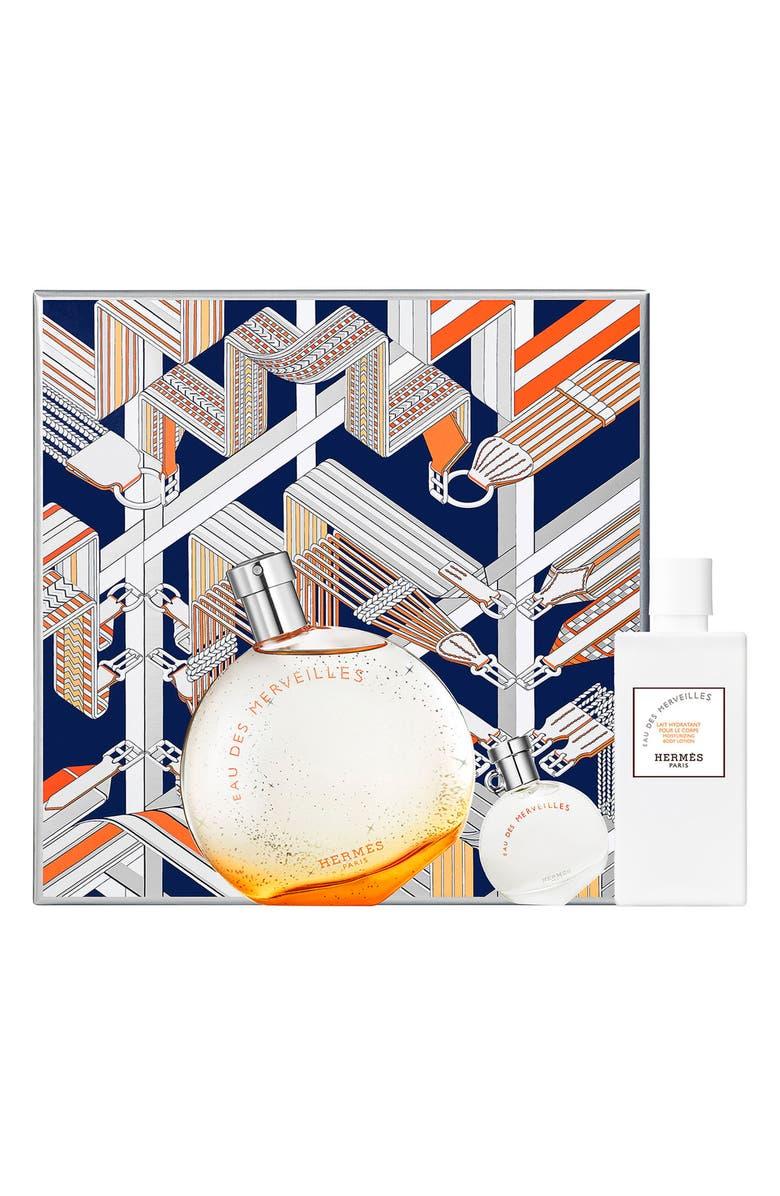 HERMÈS Eau des Merveilles - Eau de toilette set, Main, color, 000