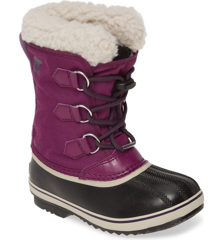 SOREL Yoot Pac Waterproof Snow Boot, Main, color, WILD IRIS