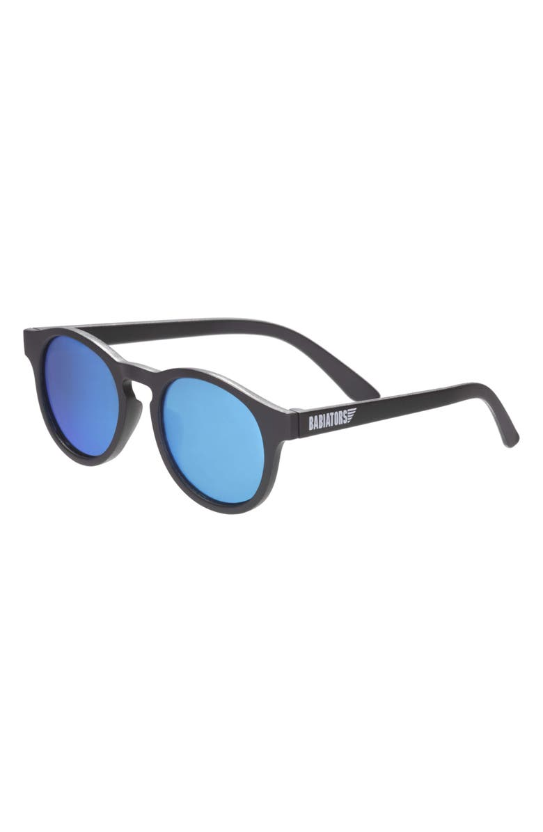 BABIATORS 43mm Blue Series Polarized Keyhole Sunglasses, Main, color, THE AGENT