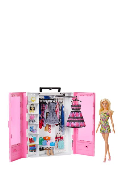 Image of Mattel Barbie(R) Fashionistas(R) Ultimate Closet(TM) Doll & Accessory Set