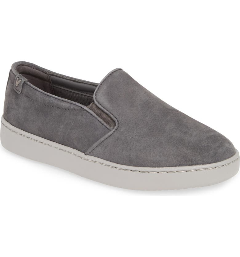 VIONIC Avery Sneaker, Main, color, CHARCOAL SUEDE