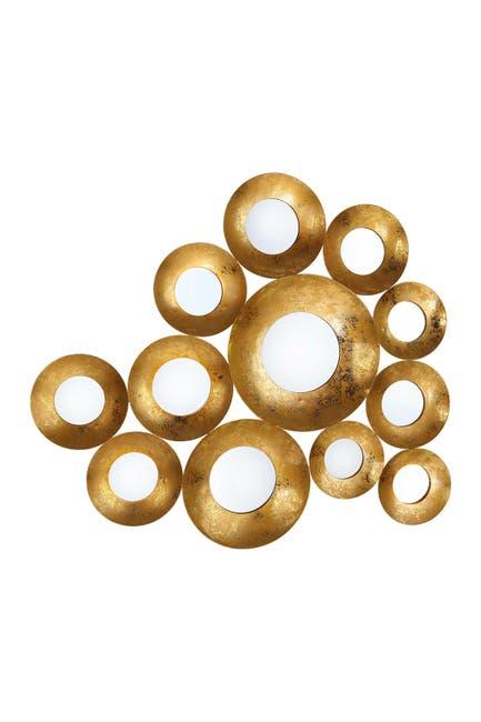 Image of TOV Furniture Vivid Gold Mirror