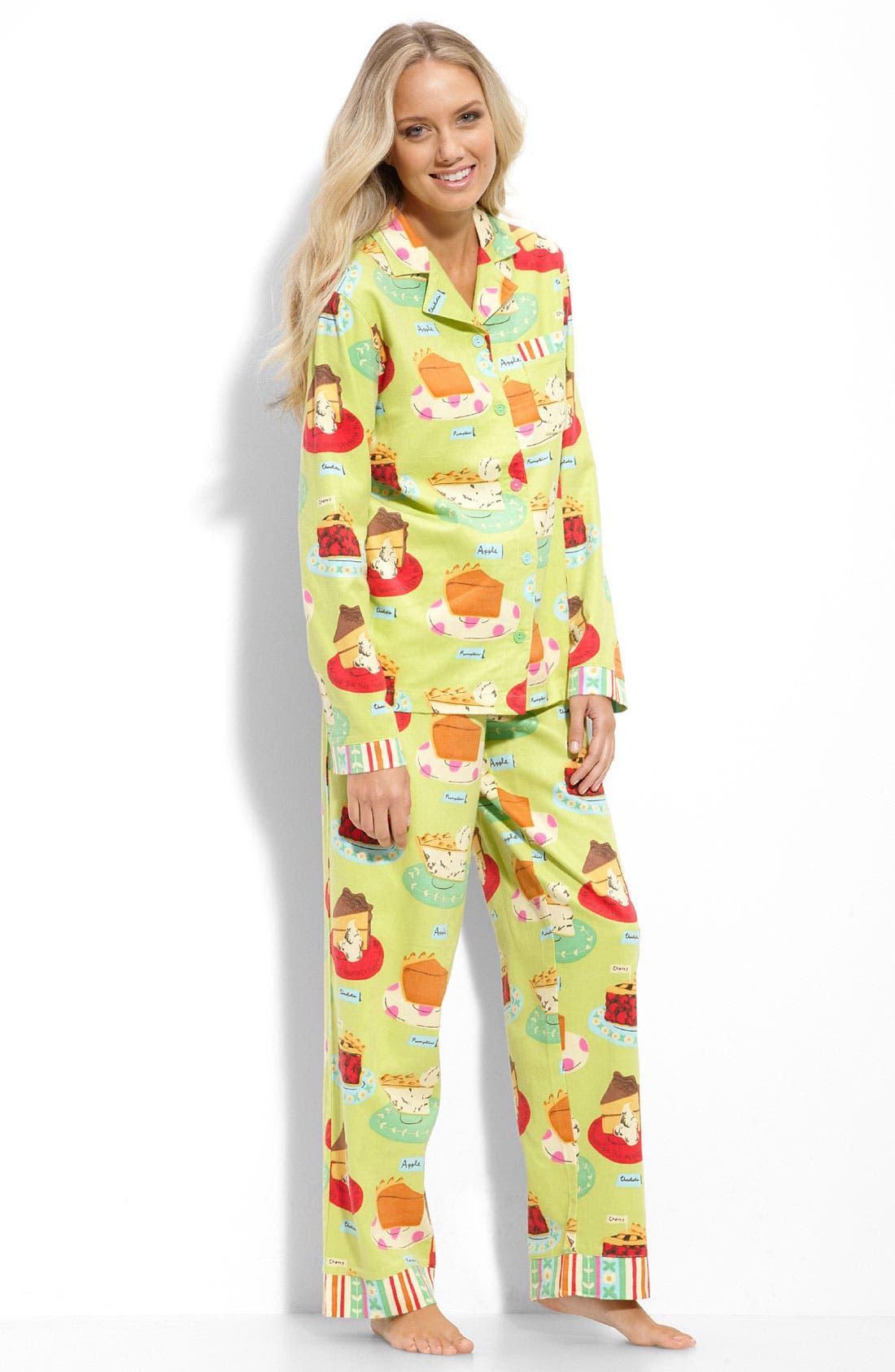,                             Flannel Pajamas,                             Main thumbnail 23, color,                             320