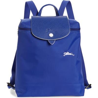 Longchamp Le Pliage Club Backpack - Blue
