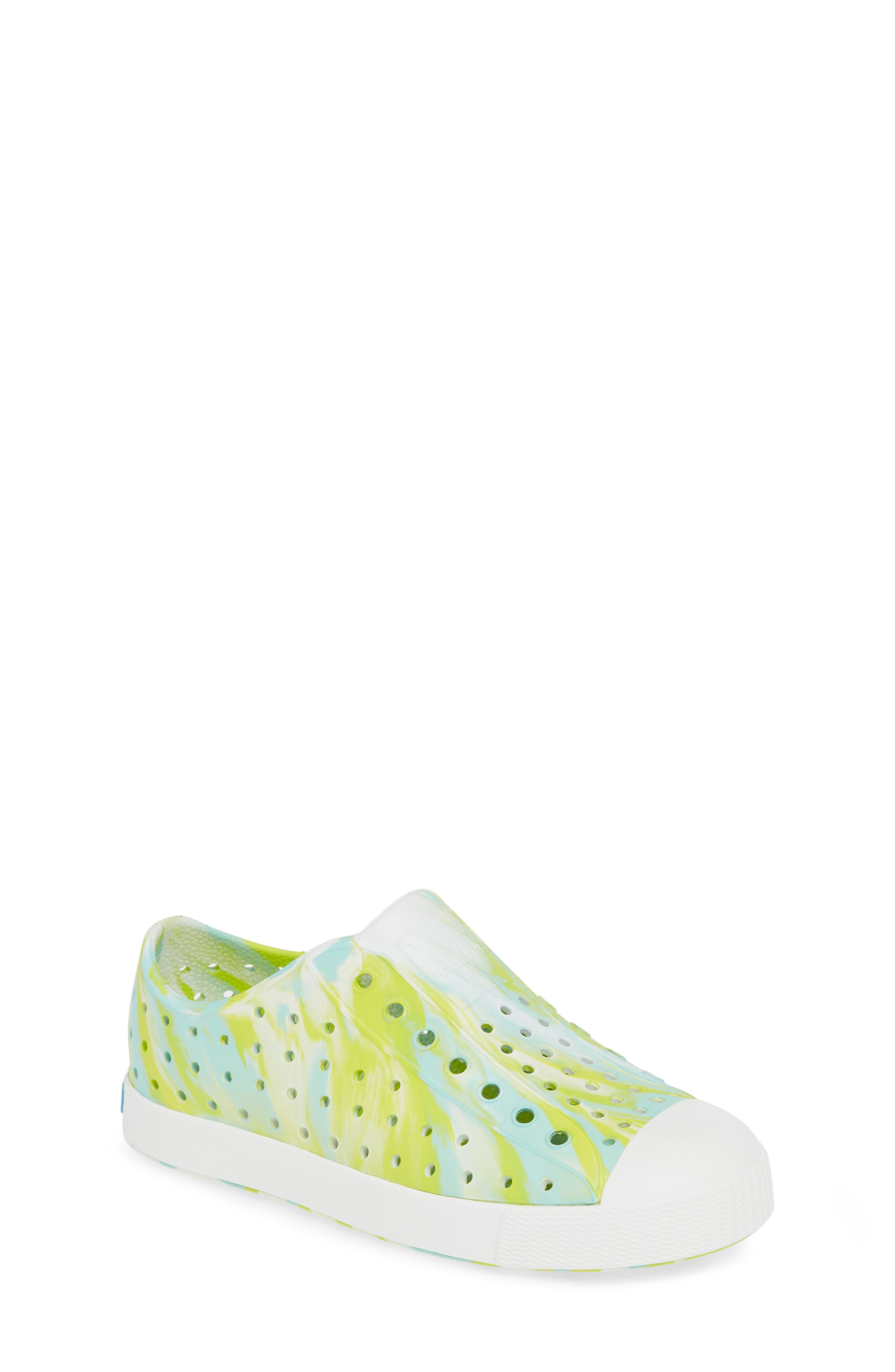 Native Shoes Jefferson - Marbled Perforated Slip-On