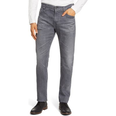Ag Everett Slim Straight Leg Jeans Grey