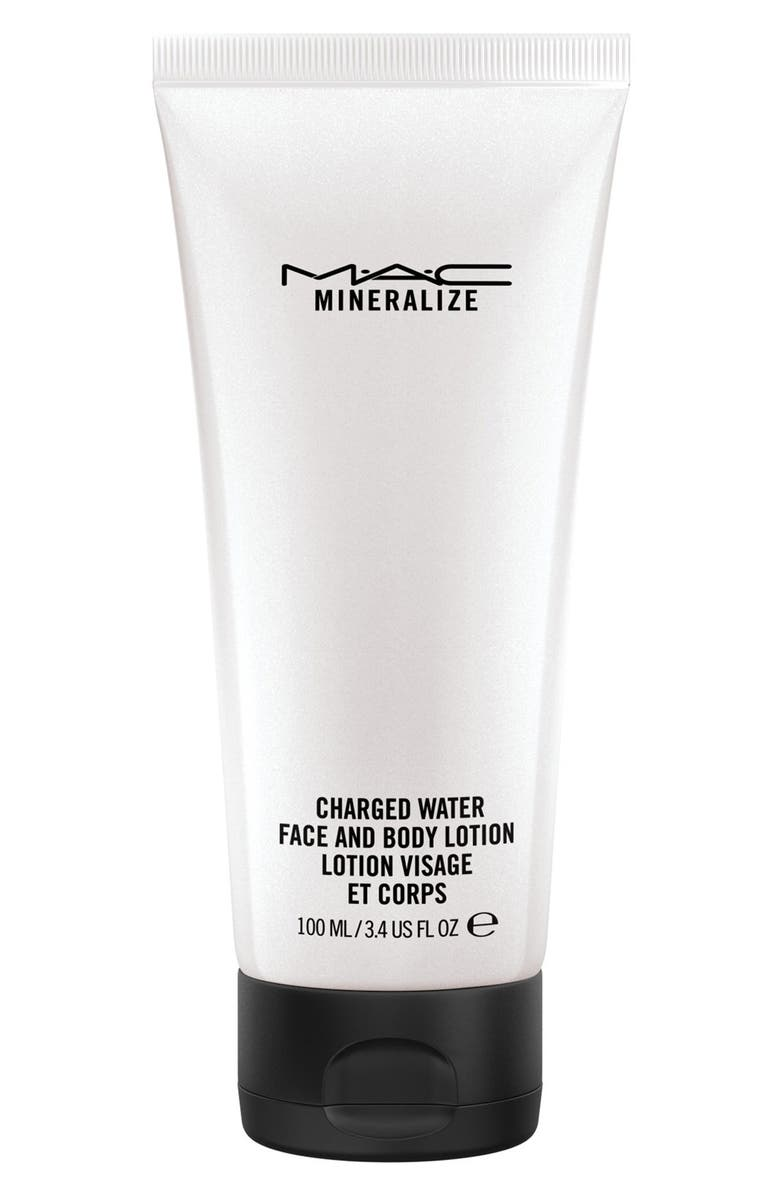 MAC COSMETICS MAC 'Mineralize' Charged Water Face & Body Lotion, Main, color, 000