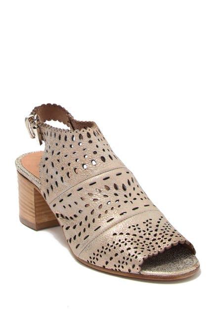 Image of RON WHITE Dora Leather Ankle Strap Sandal