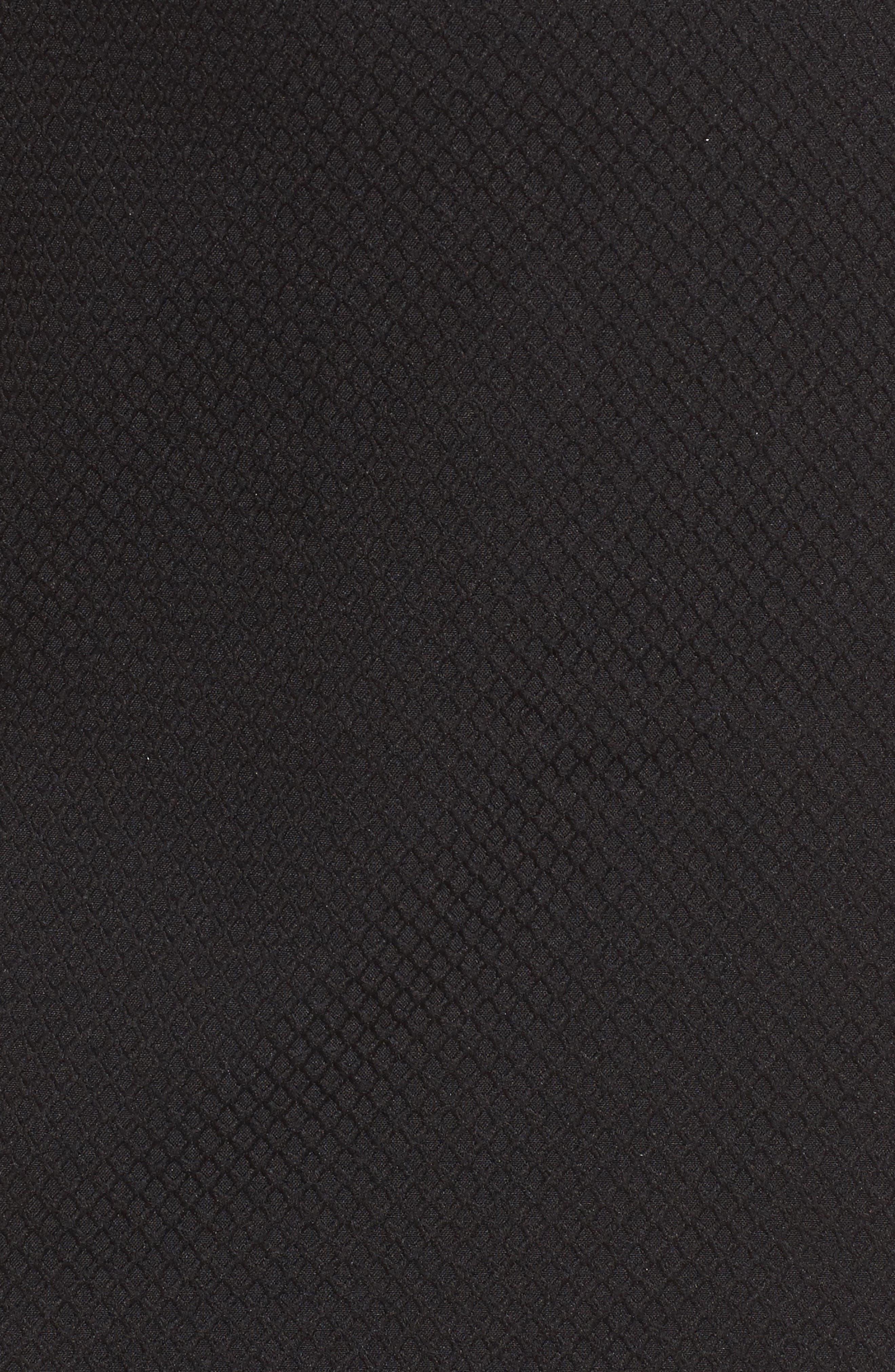 ,                             Ruffle One-Shoulder Dress,                             Alternate thumbnail 5, color,                             001