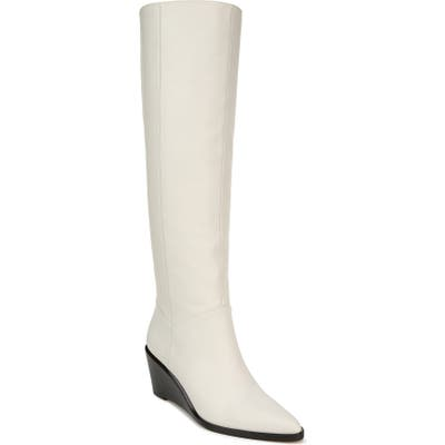 Vince Marlow Tall Boot- White