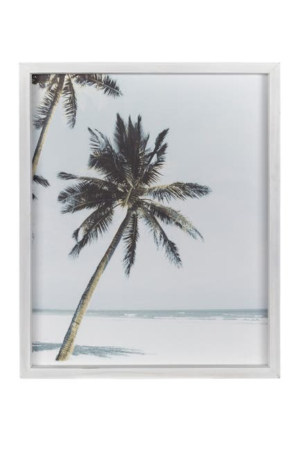 Image of Stratton Home Framed Palm Tree Wall Art