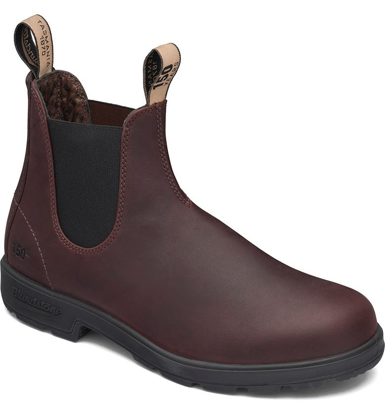BLUNDSTONE FOOTWEAR 150th Anniversary Chelsea Boot, Main, color, AUBURN LEATHER