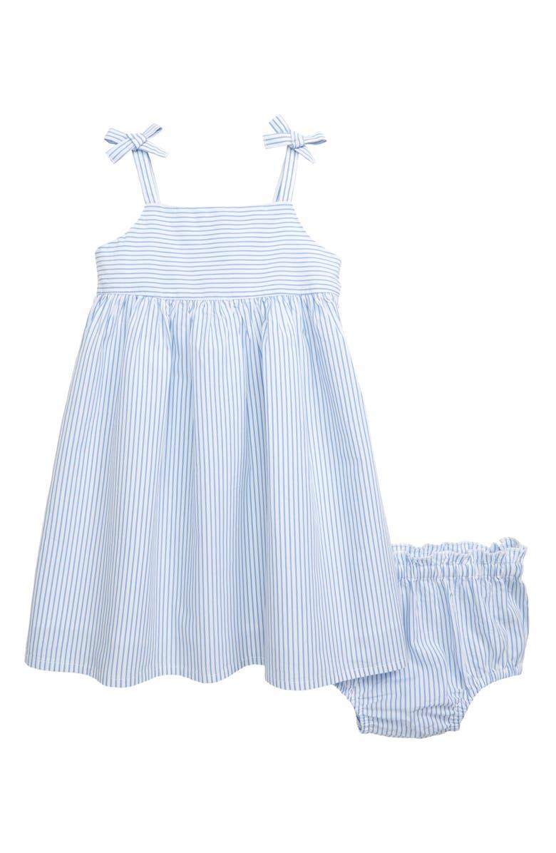 NORDSTROM Stripe Sundress, Main, color, BLUE BEL AIR STRIPE